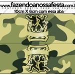 Saquinho de Balas Kit Militar Camuflado