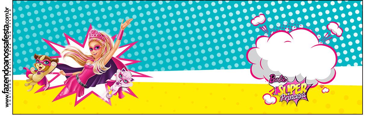 Squezze Barbie Super Princesa