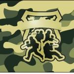 Squezze Kit Militar Camuflado