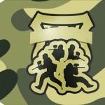 Tag Agradecimento 2 Kit Militar Camuflado