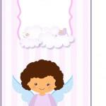 Tag Agradecimento Batizado Anjinha Afro