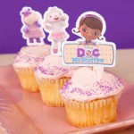 Toppers para Cupcakes da Doutora Brinquedos
