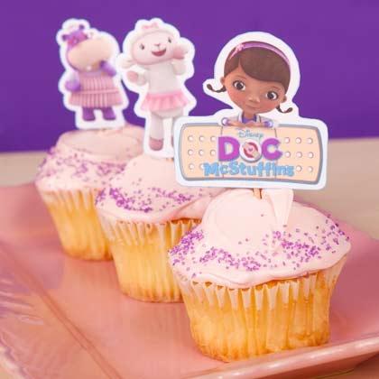 Toppers para Cupcakes Doutora Brinquedos
