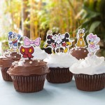Toppers para Cupcakes Mickey Mouse e sua Turma