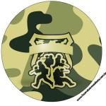 Tubetes Kit Militar Camuflado