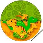 Tubetes, Latinhas e Toppers Dinossauro Cute