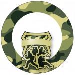 Tubetes, Toppers e Latinhas para imprimir Kit Militar Camuflado