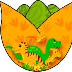 Tulipa Dinossauro Cute