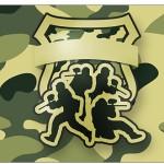Copo Brigadeiro Militar Camuflado