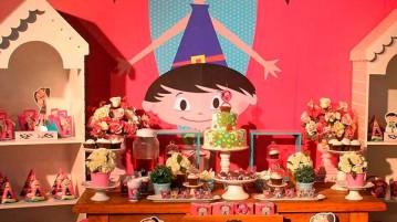 Festa Show da Luna - Mesa dos Doces
