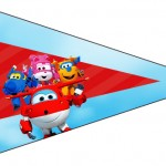 Bandeirinha Sanduiche 2 Super Wings