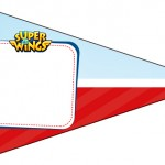 Bandeirinha Sanduiche 4 Super Wings