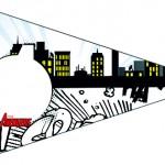 Bandeirinha Sanduiche 8 Kit Festa Vingadores Cute