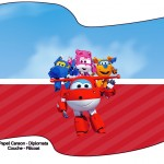 Bandeirinha Sanduiche Super Wings