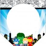 Bandeirinha Varalzinho Kit Festa Vingadores Cute