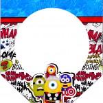 Bandeirinha Varalzinho Minions Super-Heróis