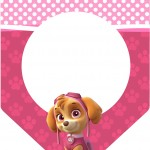 Bandeirinha Varalzinho Patrulha Canina para Meninas