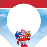 Bandeirinha Varalzinho Super Wings