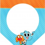 Bandeirinha Varalzinho o Incrível Mundo de Gumball