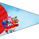 Bandierinha Sanduiche 3 Super Wings