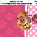 Bisnaga Brigadeiro 30gr Patrulha Canina para Meninas