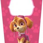 Bisnaga Flip Top Patrulha Canina para Meninas