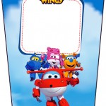 Bisnaga Flip Top Super Wings