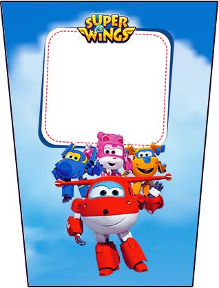 Bisnaga Flip Top Super Wings