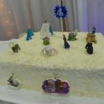 Bolo Festa Frozen da Eloísa