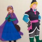 Bonecos Festa Frozen da Eloísa