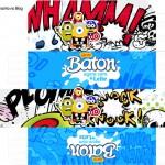 Caixa Baton Minions Super-Heróis