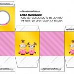 Caixa Bis Minions para Meninas