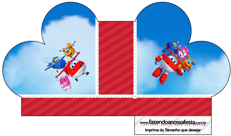 Caixa Coração Super Wings