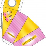 Caixa Fatia Minions para Meninas