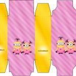 Caixa Sabonete Minions para Meninas