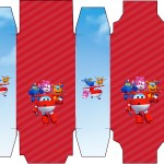 Caixa Sabonete Super Wings