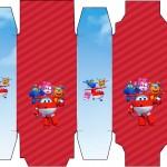 Caixa Sabonete Super Wings