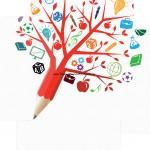 Caixa de Bombom Dia dos Professores Árvore - Fundo