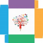 Caixa de Bombom Dia dos Professores Árvore - Fundo 2
