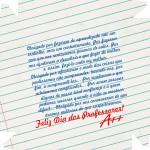 Caixa de Bombom Dia dos Professores Caderno e Mensagem