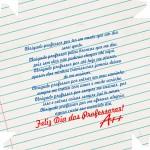 Caixa de Bombom Dia dos Professores Caderno e Mensagem 3