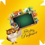 Caixa de Bombom Dia dos Professores Melhor Professor Coruja Maça Mensagens Amarelo