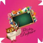 Caixa de Bombom Dia dos Professores Melhor Professor Coruja Maça Mensagens Rosa