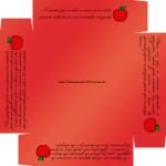 Caixa de Bombom Dia dos Professores Melhor Professor Coruja Maça Mensagens Vermelho Fundo