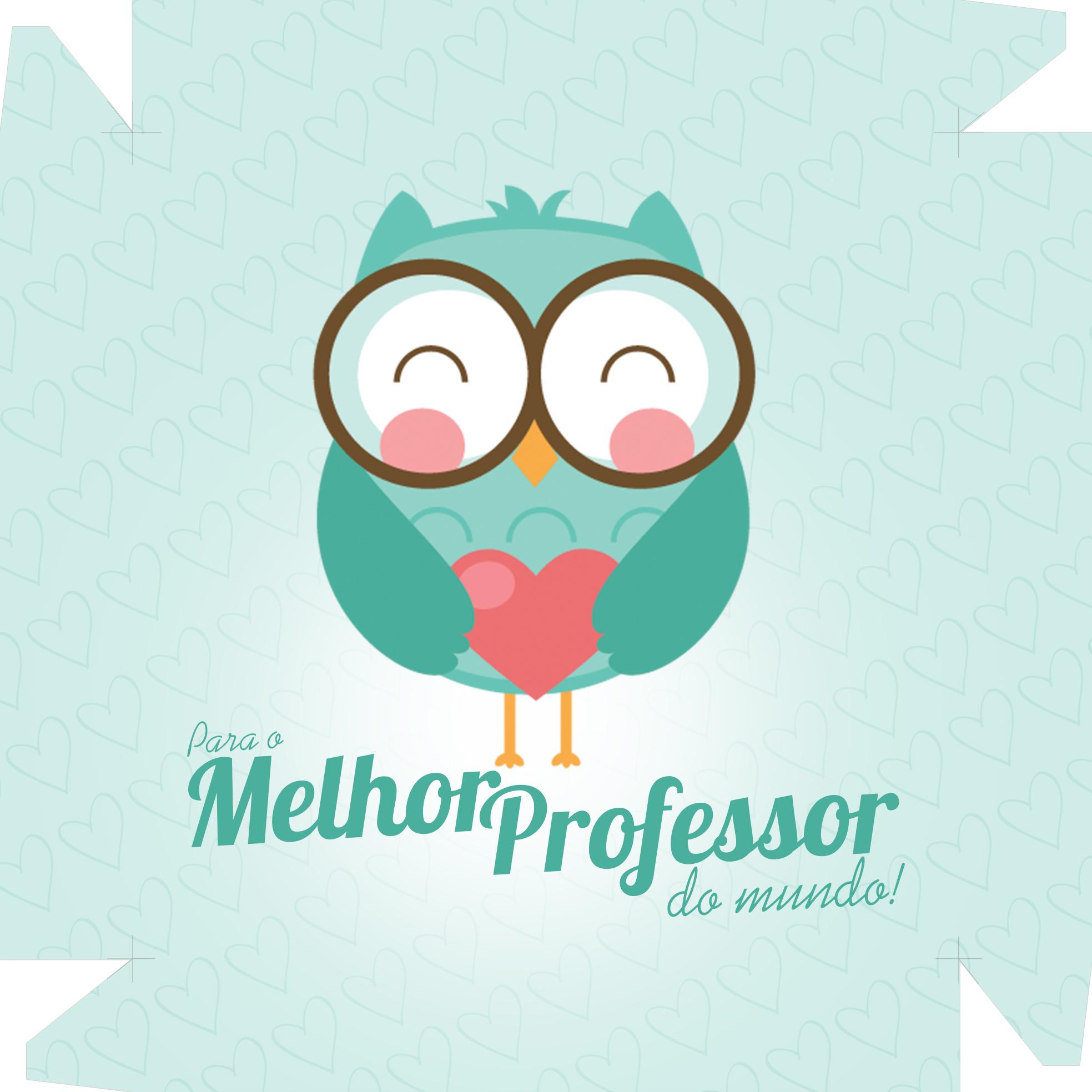 Caixa De Bombom Dia Dos Professores Melhor Professor