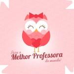 Caixa de Bombom Dia dos Professores Melhor Professora Coruja Fofa