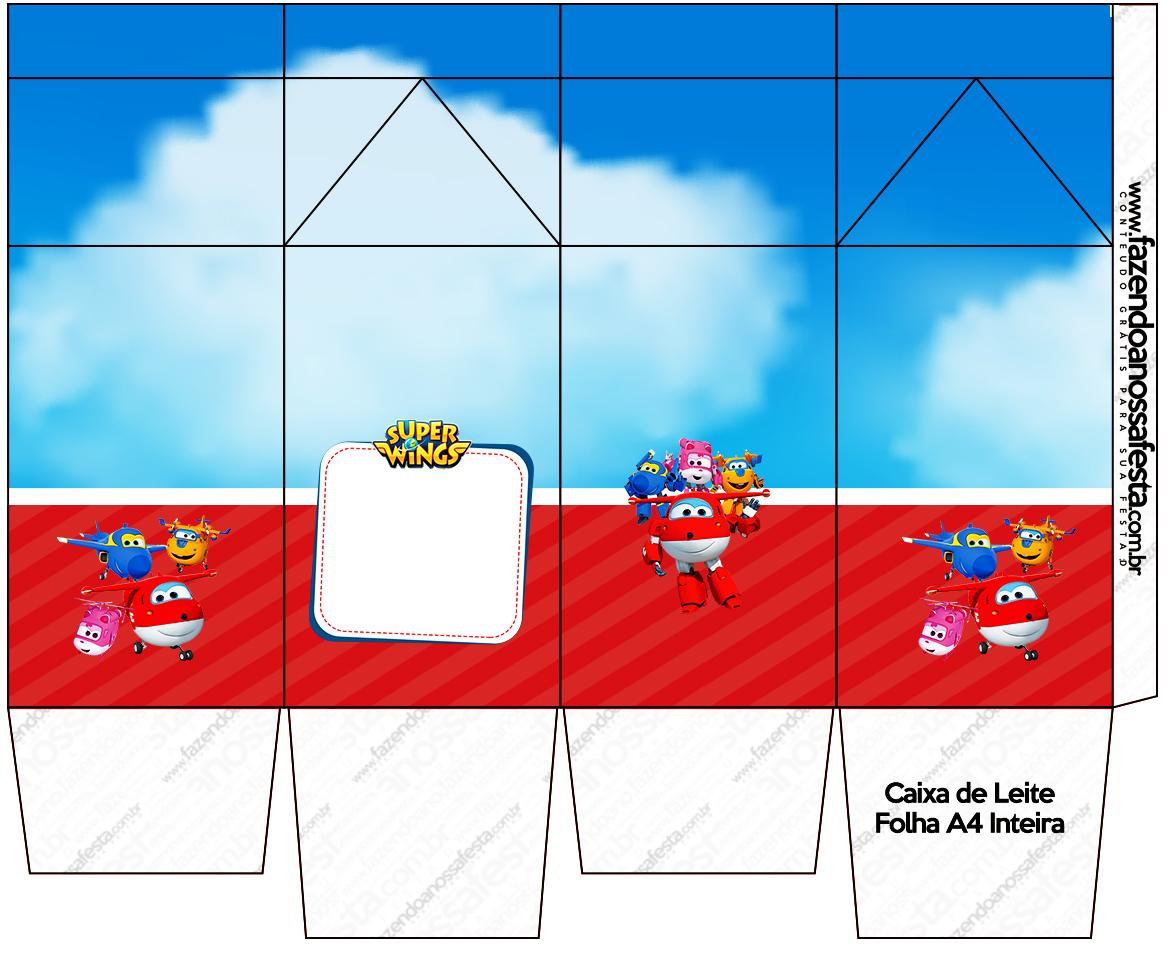 Caixa de Leite Super Wings