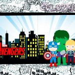 Capa Revista Kit Festa Vingadores Cute