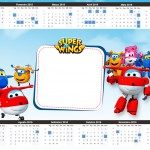 Convite Calendário 2015 2 Super Wings