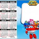 Convite Calendário 2015 Super Wings